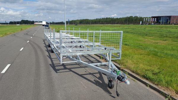 Middenas buizenwagen aanhangwagen 2