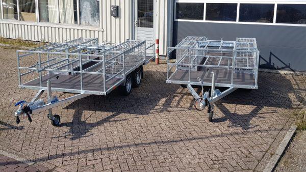 Multihaspel aanhangwagen haspelwagen 2