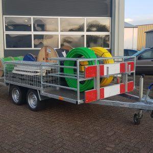 Multihaspel aanhangwagen haspelwagen 3