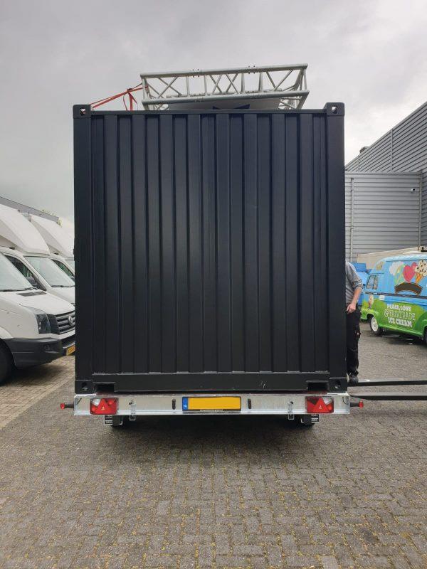 Containeraanhangwagen 10ft - Plateauwagen 3