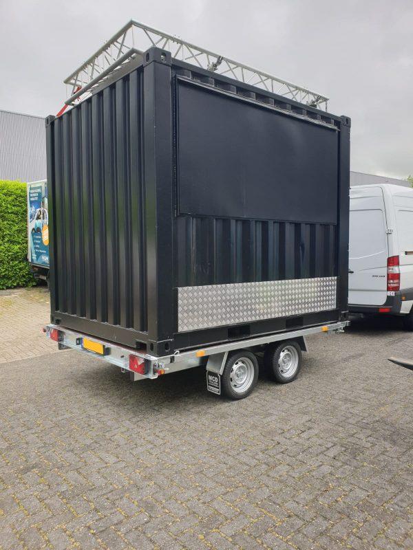 Containeraanhangwagen 10ft - Plateauwagen 6