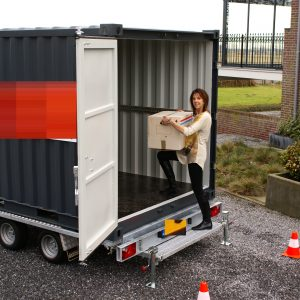 Containeraanhangwagen 9ft
