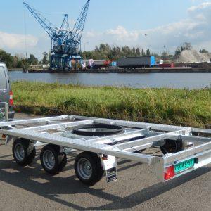Containeraanhangwagen (open)