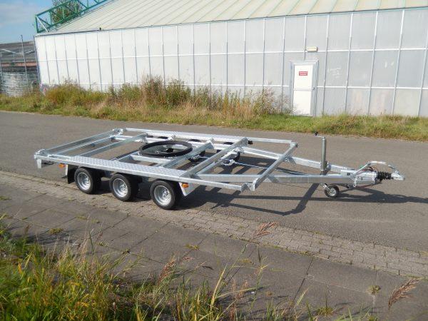 Containeraanhangwagen (open) 1