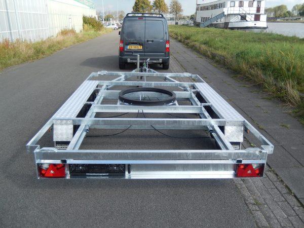 Containeraanhangwagen (open) 4